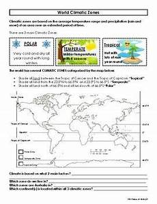 weather map worksheets 6th grade 14617 world climatic zones worksheet map activity map activities earth science activities