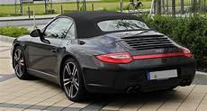 porsche cabrio file porsche 911 cabriolet black edition 997 facelift