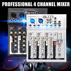 Bakeey Professional Channel Sound Card Channel by S Skyee 4 Channel Professional Live Mixing Studio Audio