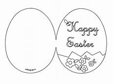 easter egg card templates printable happy easter card printable easter easter easter