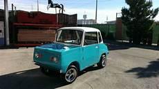Semi Oddity 1960 Electric Micro Car