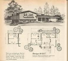 vintage house plans multi level homes part 13 ranch