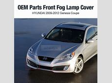 OEM Genuine Parts Fog Lamp Cover For HYUNDAI 2009 2012