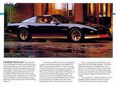 automotive service manuals 1984 pontiac 6000 regenerative braking old car owners manuals 1984 pontiac firebird head up display 1984 pontiac firebird trans am