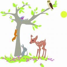 rideau chambre enfant 4986 stickers enfant quot l arbre de la for 234 t faon et lapin