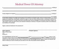 sle medical power of attorney form 7 free documents in pdf