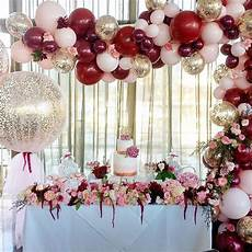 balloon and flower decor for party decoration party ideas deco fete deco anniversaire