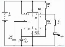 555 Timer Astable Multivibrator Circuit Technology Hacking