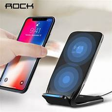 rock 10w qi wireless charger for iphone x 8 10 fast