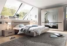 Schlafzimmer Komplett 4 Teilig Sonoma Eiche Dunkel Sand