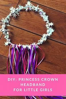 diy princess crown headband for princess
