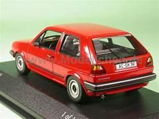 Vw Golf 2 Cl Marsrot Modellauto Minichs 1 43