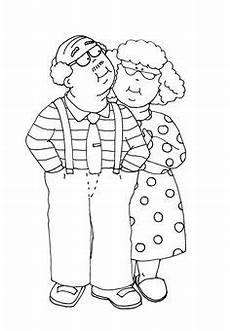 Gratis Malvorlagen Oma Und Opa Die 26 Besten Bilder Oma Und Opa Oma Und Opa