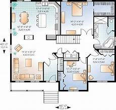 open concept bungalow house plans canada plan 21888dr three bedroom plan with options in 2019