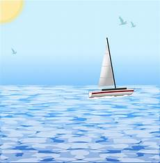 Sea Clipart onlinelabels clip sea with boat