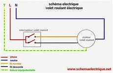 schema volet roulant schema electrique branchement cablage