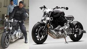 MS Dhoni's Hellcat Bike  Dhonis Collection GQ