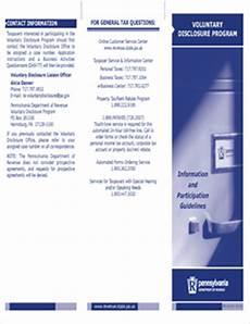 form rev 610 fillable brochure voluntary disclosure