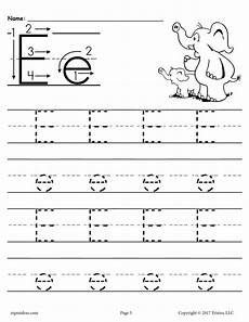 letter e tracing worksheets for preschool 23587 free printable letter e tracing worksheet supplyme