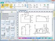 software for wiring diagrams electrical diagram software create an electrical diagram easily