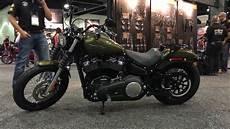 customized 2018 fxbb bob new models harley davidson