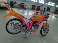 Modifikasi Yamaha Scorpio by 40 Gambar Modifikasi Yamaha Scorpio Sporty Keren Modif Drag