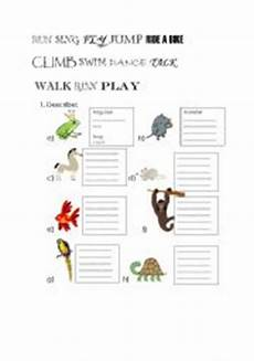 animals abilities worksheets 13782 worksheets animals abilities