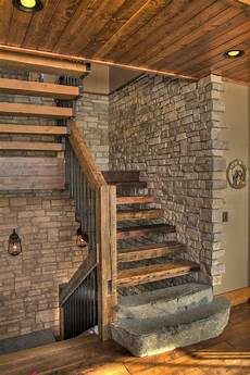 20 graceful rustic staircase designs you re going to
