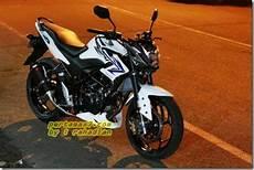 Cb 150 R 2014 Modif by Honda Cb150r Berkaki Kawasaki 250 Fi Ban Belakang