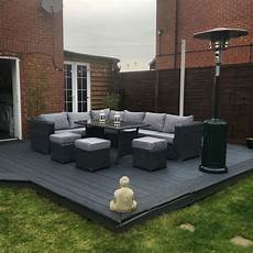 garden decking furniture 9 seater rattan garden furniture grey decking garden