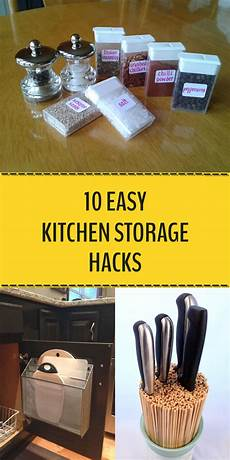 Helpful Kitchen Hacks by 10 Easy Kitchen Storage Hacks You Need To Try