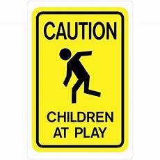 the hillman 18 in x 12 in plastic caution children