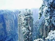 four points to visit zhangjiajie in winter zhangjiajie