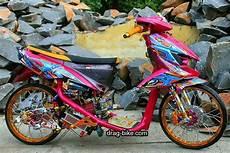 modifikasi mio soul semi drag modifikasi mio soul thailook racing gt drag