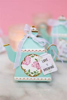 diy bridal shower tea bags with coffee filters