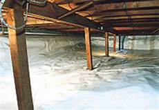 crawlspace insulation where should it go myhomescience