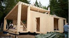 selber haus bauen a real diy the flatpack house you can build yourself