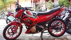 Modifikasi Fu 2013 by Modifikasi New Satria Fu 2013 Pak Dosen Dari Gorontalo