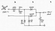 electronic netzled led an netzspannung als notlicht