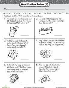 word problem worksheets for 2nd grade 11025 addition and subtraction word problems word problems math word problems math story problems
