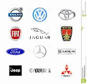 World Famous Car Brands Editorial Photography