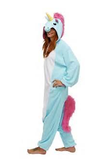 blue unicorn kigu kigurumi animal onesies