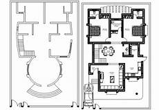 free cad software for house plans centerline plan of house cad drawings 2d view autocad