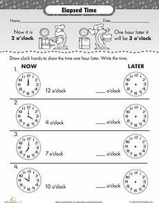 time worksheets earlier and later 2983 elapsed time one hour later teaching