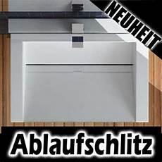 Design Ablaufschlitz Waschbecken Waschtisch 60cm 70cm Ebay