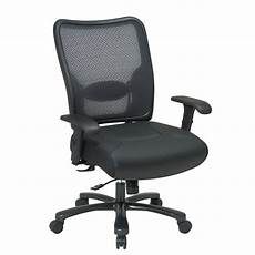 Office Chairs Bc by Space Seating Big And Black Airgrid Back Office Chair