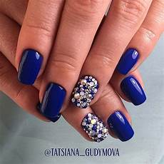 41 elegant nail designs with rhinestones stayglam