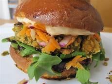 chickpea veggie burger recipe popsugar food