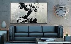 Bild Schwarz Weiß Leinwand - leinwand bild 150x90x5 schwarz weiss modern