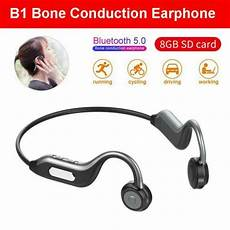 2020 Painless Bone Conduction Earphone Bluetooth by Bluetooth 5 0 Headset Stereo Bte Bone Conduction Wireless